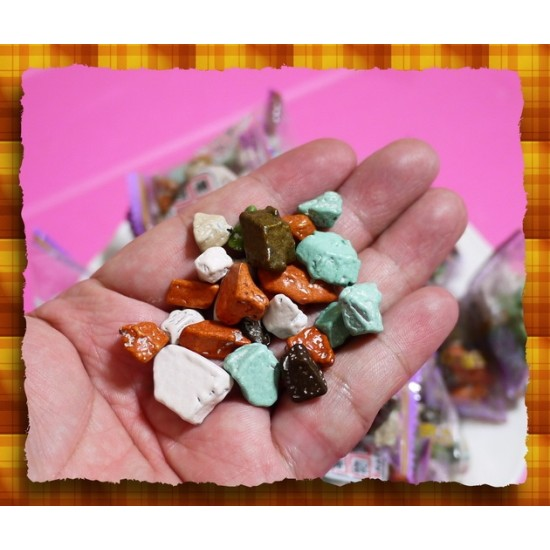 最頂級-正宗韓國進口彩岩石頭巧克力(單包)
