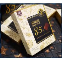 ALWAYS歐維氏醇黑巧克力85%比例-使用100%迦納可可-宏亞公司貨