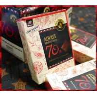 ALWAYS歐維氏醇黑巧克力70%比例-使用100%迦納可可-宏亞公司貨