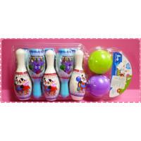 小紫妹妹攜帶式玩具保齡球組