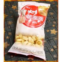 華元波的多薯圈圈經典原味添加玫瑰鹽