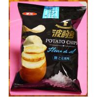華元波的多洋芋片鹽之花風味超大拒絕分享包約150g