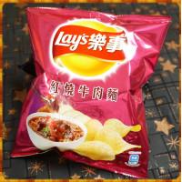 20元賣Lay's樂事紅燒牛肉麵風味洋芋片(單包報價)