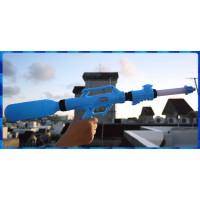 寶特瓶的好夥伴-全吸水式超遠距水槍發射器