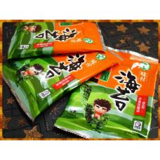 橘平屋味付海苔隨手包三包裝(全素)台灣製-使用非基改醬油
