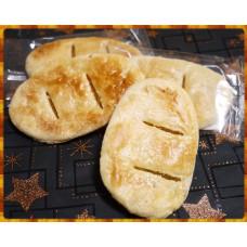 台南40年老店招牌名產-金錢餅原味10大塊裝
