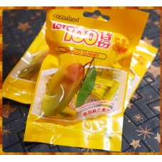 使用真正芒果原汁的芒果味QQ軟糖-原裝進口