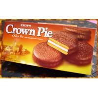 乖乖原廠Crown巧克力派小盒-180g共六個裝