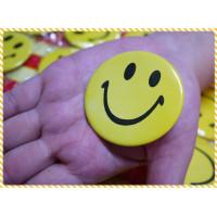 特大的正統微笑胸章(徽章)直徑達5.5公分單顆