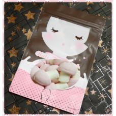 AA級義大利進口寶格麗棉花糖8顆隨手包(蘑菇造型)