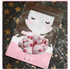 AA級義大利進口寶格麗棉花糖8顆隨手包(粉紅小豬造型)