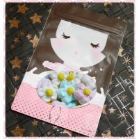 AA級義大利進口寶格麗棉花糖10顆隨手包(大花朵造型)