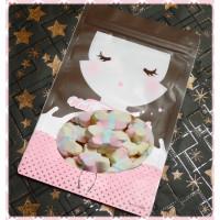 A級彩色蝴蝶棉花糖4.5公分棉花糖小包裝