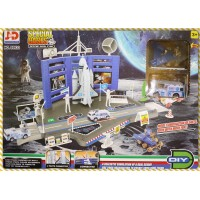 先進的太空梭發射基地玩具組大型禮盒款