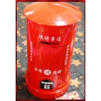 聖誕主題台灣通儲復古郵筒(存錢筒)紅色款大