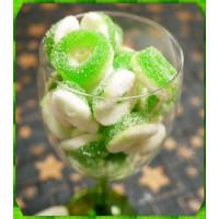 綠精靈QQ甜心檸檬風味軟糖300g裝