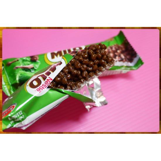 雀巢公司貨-吃飽用的MILO美祿巧克力穀物棒23.5公克一條