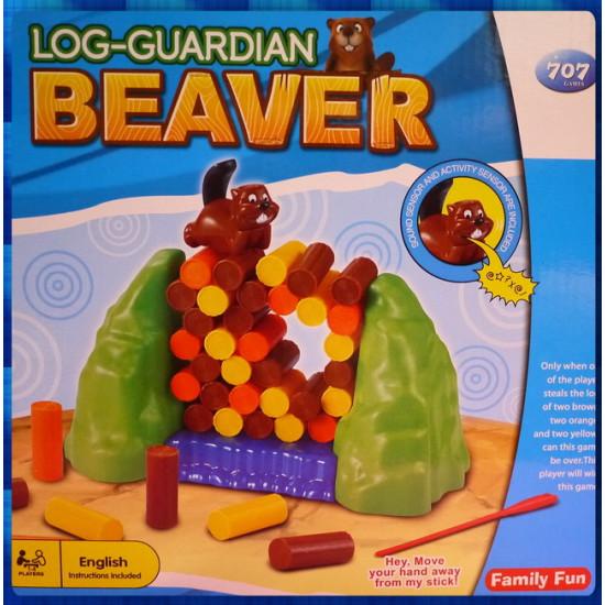 捍衛海狸的就靠你了桌遊套件-海狸會吼你喔