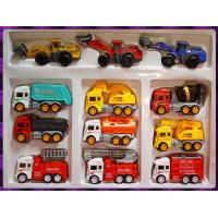 百貨公司專售99元級各行各業工程車12台大全套禮盒款