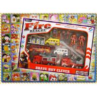 正營業用70洞洞樂外附消防隊主題家家酒全套禮盒組