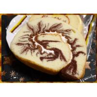 巧克力閃電螺旋型奶油蛋糕(每一份約80g上下)