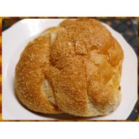 比手掌大的湯種芋頭麵包