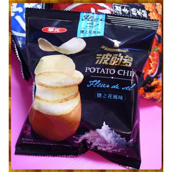 華元波的多洋芋片鹽之花風味20g包