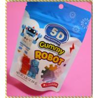 5D機器人造型軟糖64g一包-無人工色素添加