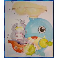 氣派又好玩的一體成形海豚主題小寶寶玩水套件禮盒款