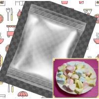 60小包裝3公分彩色愛心棉花糖(3+1顆一包裝)