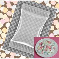 60小包裝1.5公分小彩色愛心棉花糖(8顆一包裝)