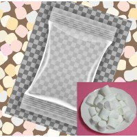 60小包裝3公分雪白圓柱棉花糖(3+1顆一包裝)