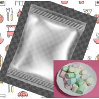 60小包裝3公分彩色圓柱心中心棉花糖(3+1顆一包裝)