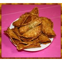 清爽的古早味海苔煎餅又稱元寶酥(600g裝)-加入純黑糖