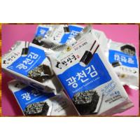 韓國原裝韓尚宮海苔4g共12包-直吃或包飯好吃到哭出來