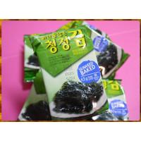 韓國原裝韓趣味岩烤海苔4.5g共12包-直吃或包飯好吃到哭出來