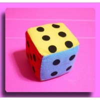 布骰子方塊娃娃(7公分)