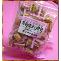 醇醇的草莓夾心餅乾230g