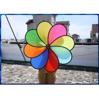 營業場所專用特大100公分直徑8片式立體彩色風車