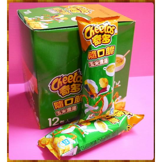 奇多麻吉包(隨口脆)玉米濃湯口味12包裝