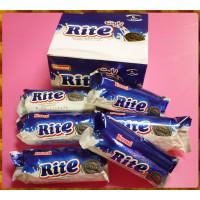 就是要大口爽吃的Rite黑巧克力烤餅乾包香草夾心6大條裝
