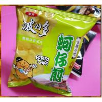 15元賣華元波的多蚵仔煎口味洋芋片(20包一箱裝)