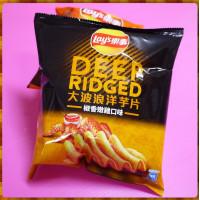25元賣Lay's樂事大波浪洋芋片椒香嫩雞口味(單包報價)
