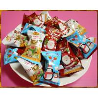 法國風應景聖誕節的水果風味軟糖1000g裝