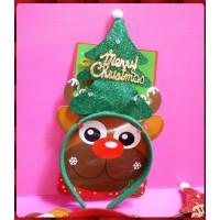 會閃閃發光的聖誕主題頭扣(單個報價)