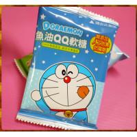 12元賣哆拉A夢主題魚油QQ軟糖單包裝