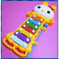 小白兔鐵木琴玩具