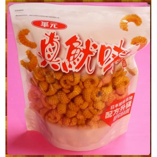 華元真魷味紅燒口味超級大分享包-日本蝦醬添加