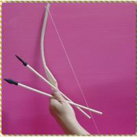 50公分長木製弓箭一組裝(含2隻箭)