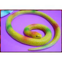 觸感逼真的讓您再大膽也會怕怕的擬真蟒蛇50公分長-黃蛇
